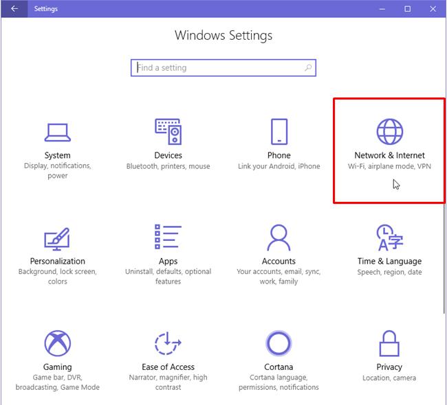 Configure Proxy Settings in Windows 10