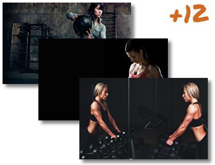 Fitness Girl theme pack