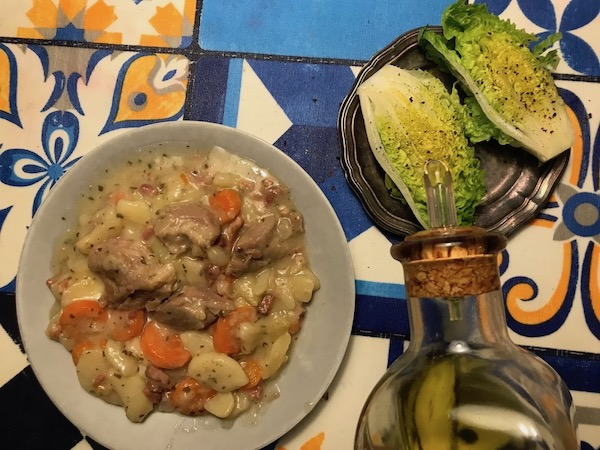 guiso de pavo con patatas