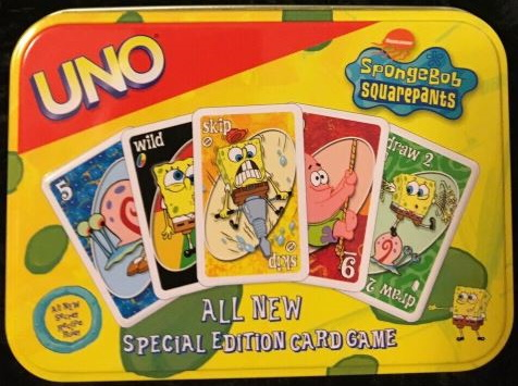 SpongeBob Squarepants Uno (2003)