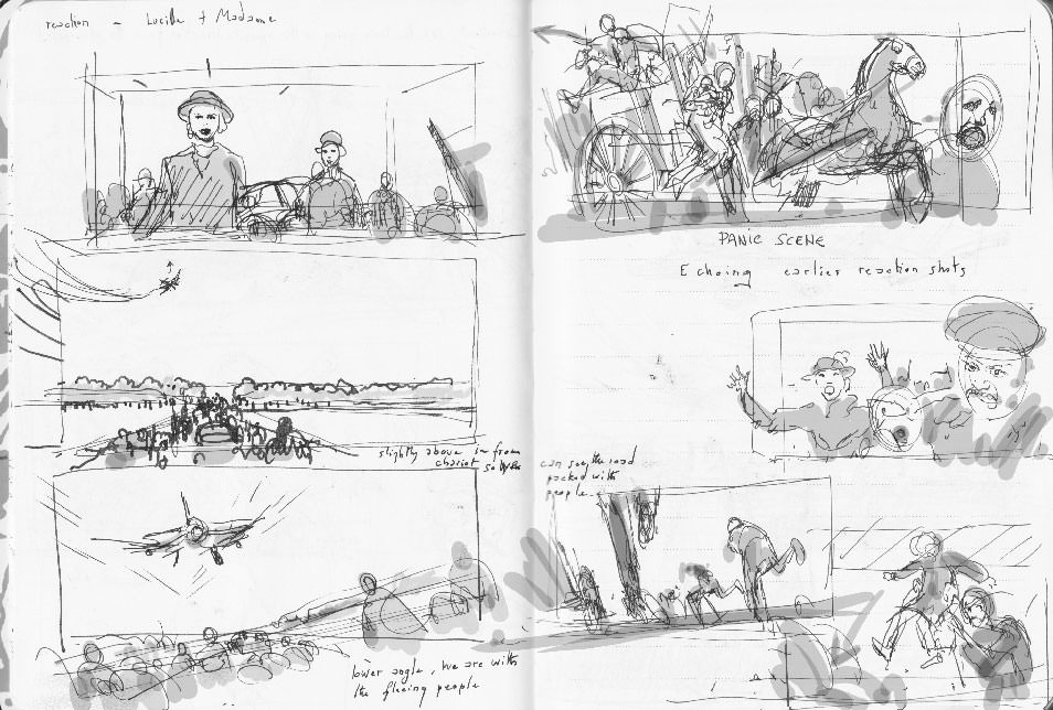 Suite Française first rough storyboard 05