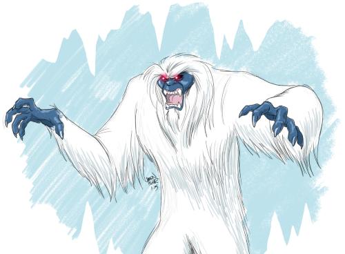 Monstrous Yeti Sketch