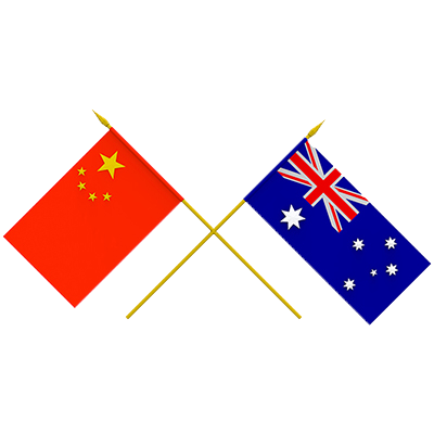 Australia China Grant from Adobe Stock.