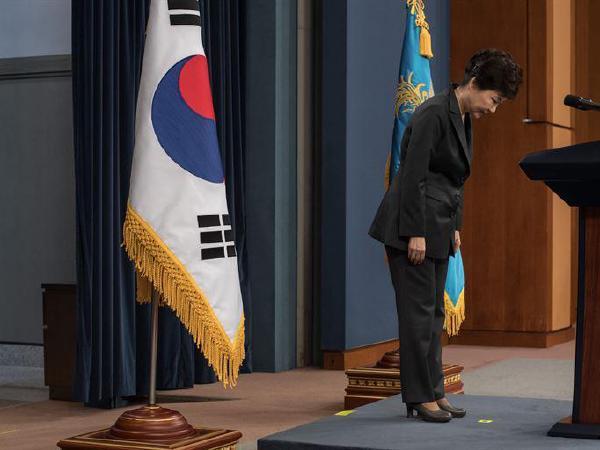 한국 박근혜 대통령 파면, 만장일치 선고