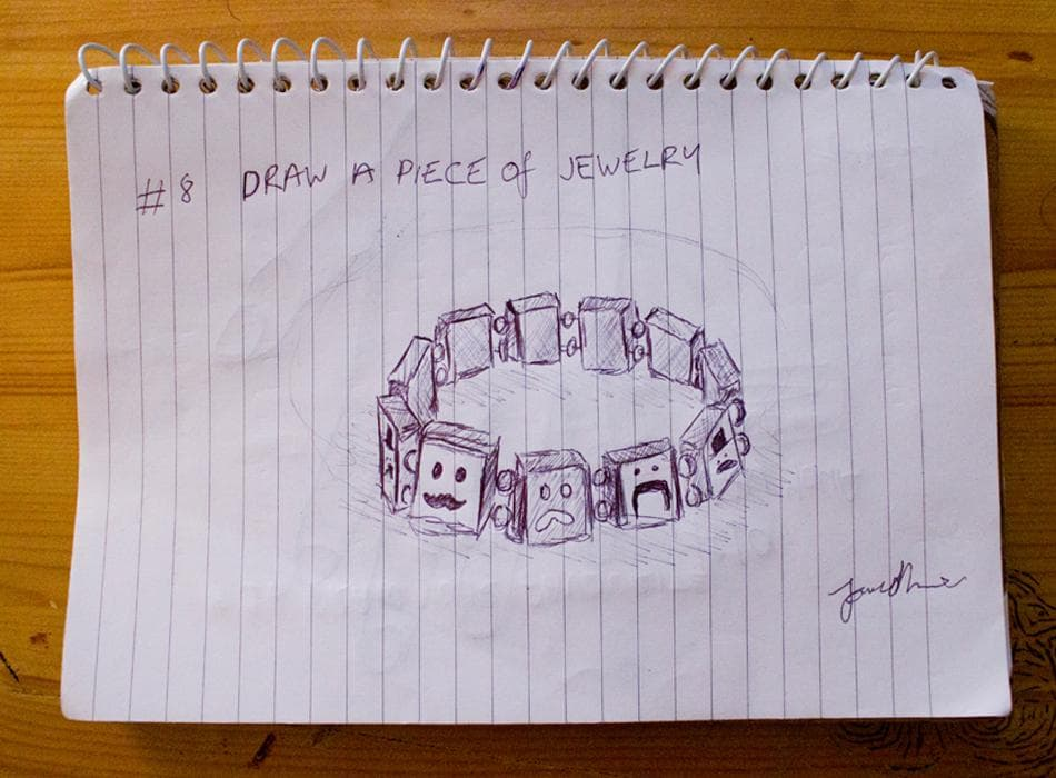 EDM #8 Draw a Watch or Other Piece of Jewellery