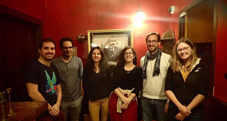 Kumbu team of 6 work remotely across France