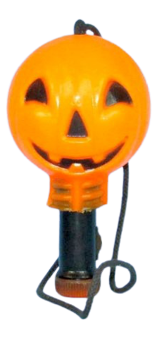 Pumpkin Safety Flashlight photo