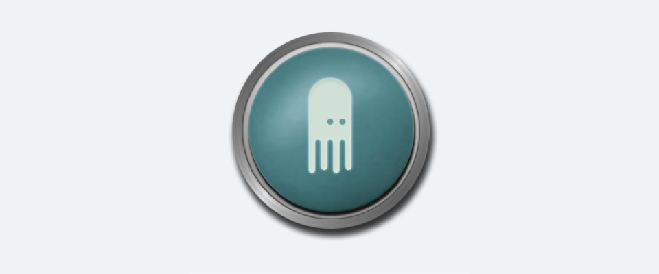 Mockup of a real Transposit button