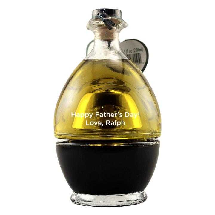 Father's Day Chef Gift engraved Olive Oil bottle by Etching Expressions
