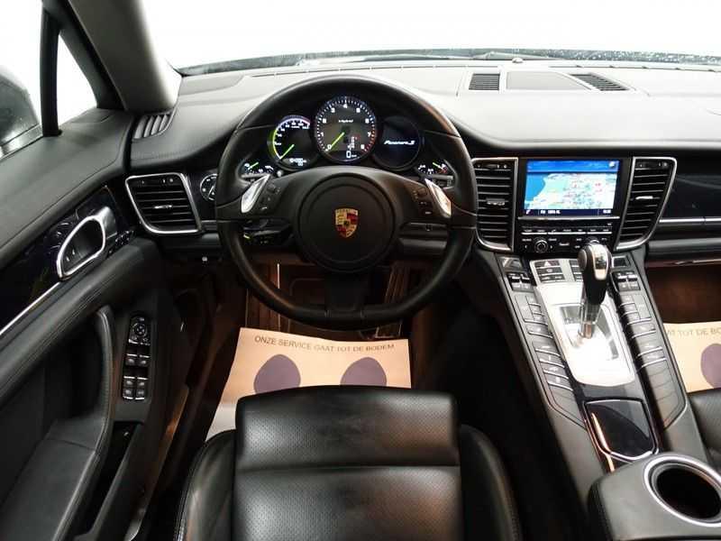 Porsche Panamera 3.0 S E-Hybrid 334pk Turbo Sport Uitv! Leer, Schuifdak, Navi, Xenon Led afbeelding 12