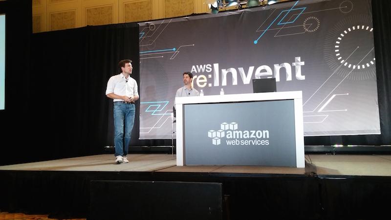 Sebastian Montini @ AWS Stage