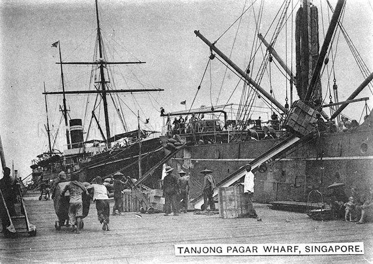 Tanjong Pagar Wharf, 1900s