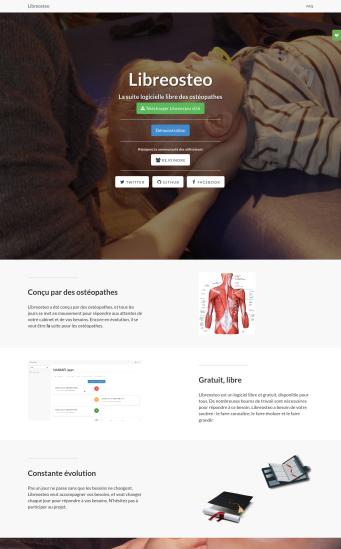 Screenshot Libreosteo official