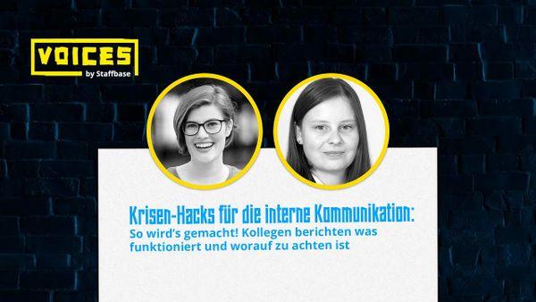 Krisen-Hacks für die interne Kommunikation | Laura Koller & Sandra Bauernfeind
