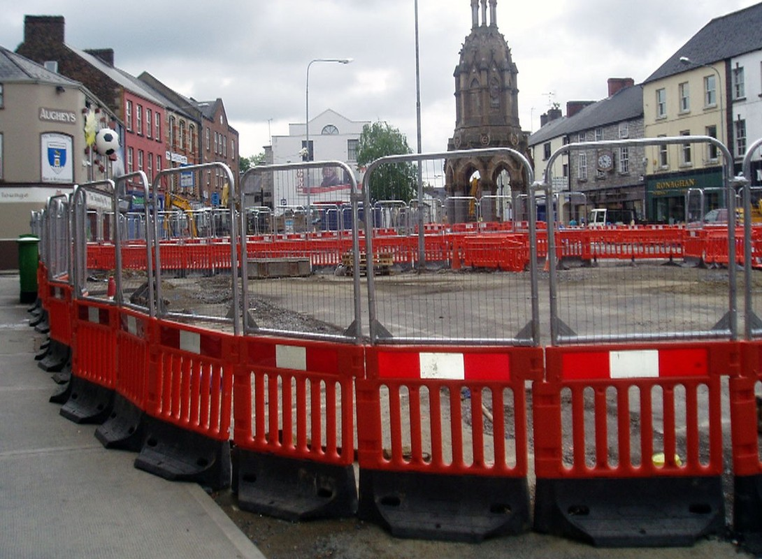 StrongWall barrier in town centre