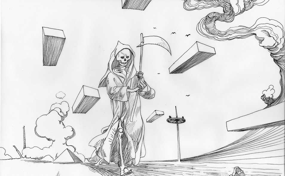 Atoleiros 1384 animatic - Death plague — animatic drawing 07