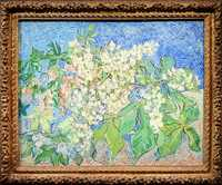 Blossoming Chestnut Branches, painted by Van Gogh at Auvers-sur-Oise in May of 1890