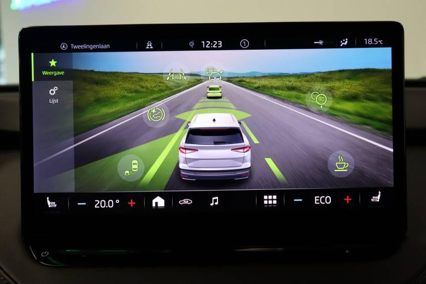 Škoda ENYAQ iV 80 First Edition Full-led Elec.Trekhaak 21'inch lmv Direct Leverbaar!! afbeelding 19