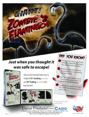 Cado Giant Zombie Flamingos 2014 Catalog.pdf preview