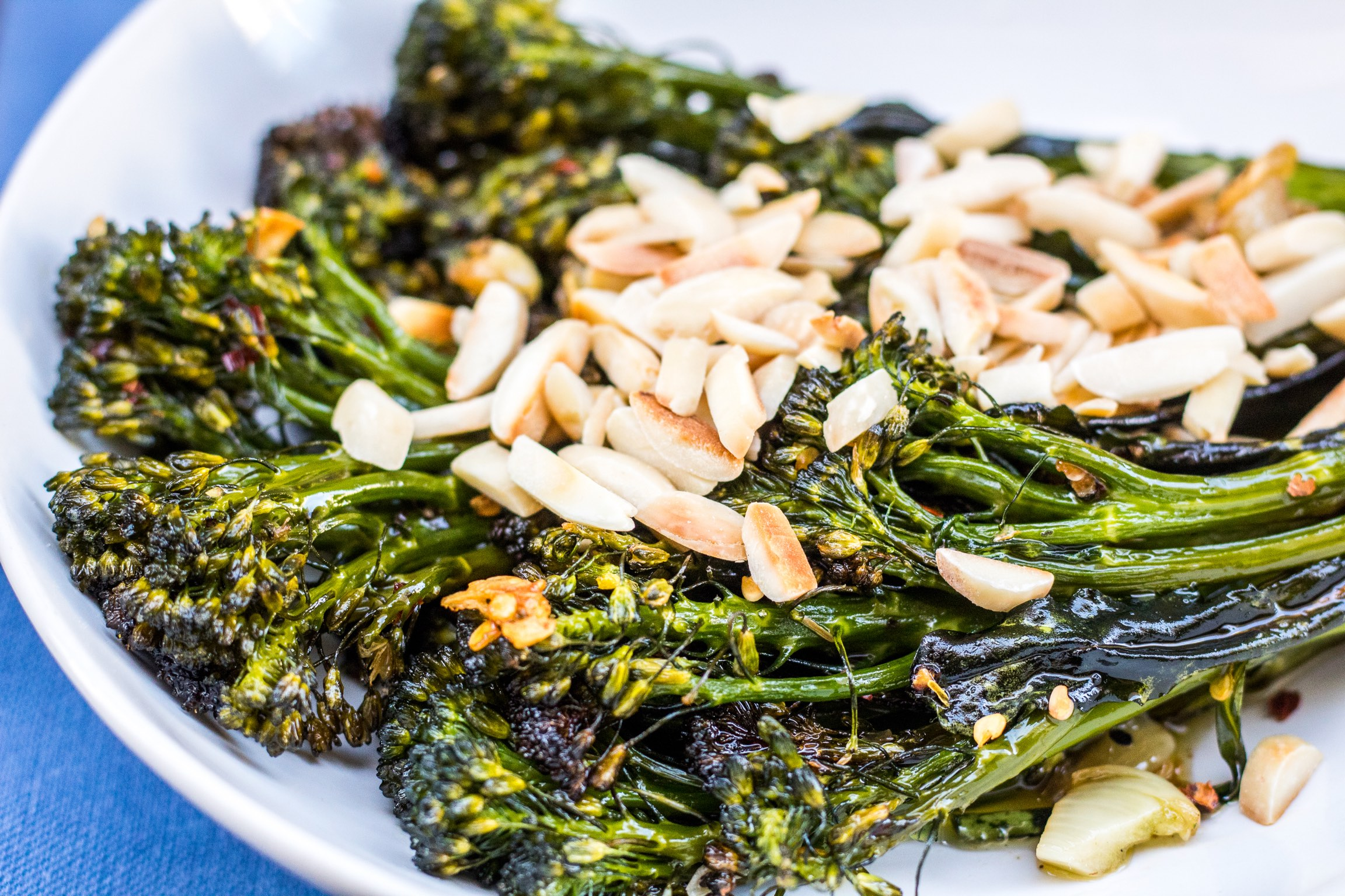 Spicy broccolini