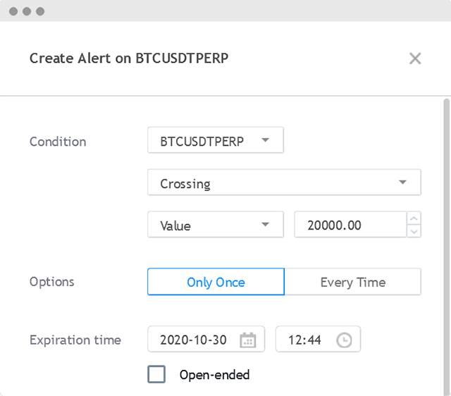 Execute tradingview alerts