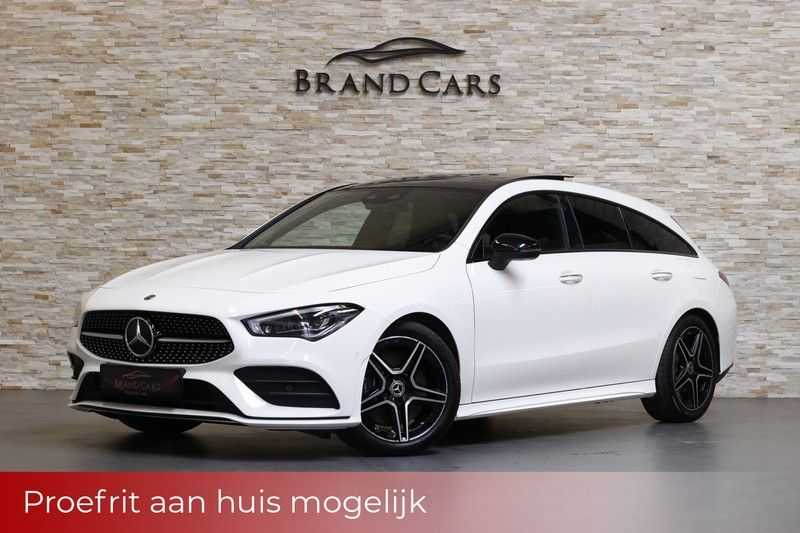 Mercedes-Benz CLA-Klasse Shooting Brake 220 Premium Plus | WIDESCREEN | AMG Pakket | Keyless entry | Massage stoelen |Panoramadak | Memory pakket | Burmester | Sfeerverlichting doorlopend | MULTIBEAM LED | Trekhaak | Vol opties afbeelding 25