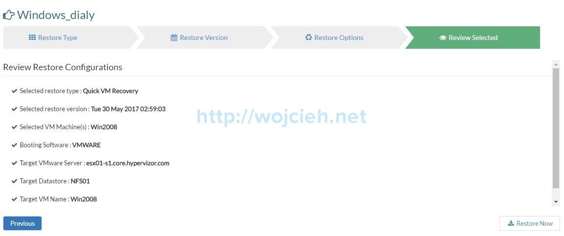 Vembu BDR Suite Review - 20