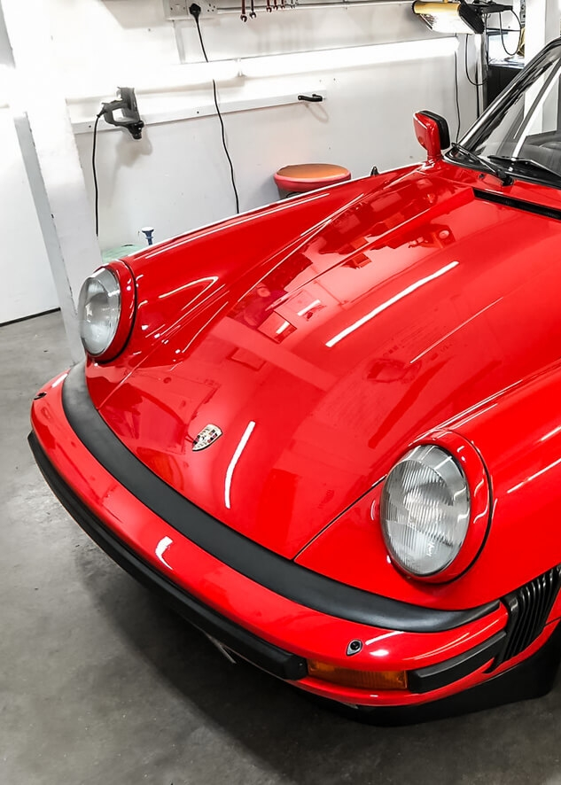 Porsche 911 Classic Restoration