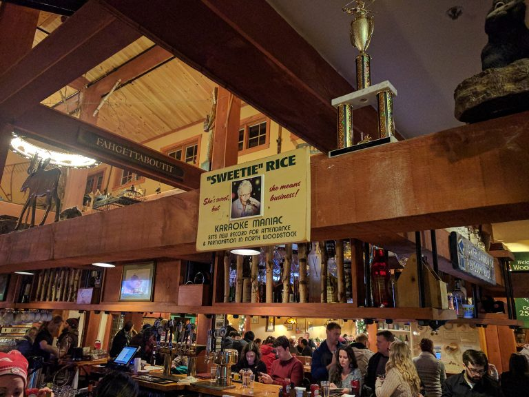 Woodstock Inn Brewery in North Woodstock NH