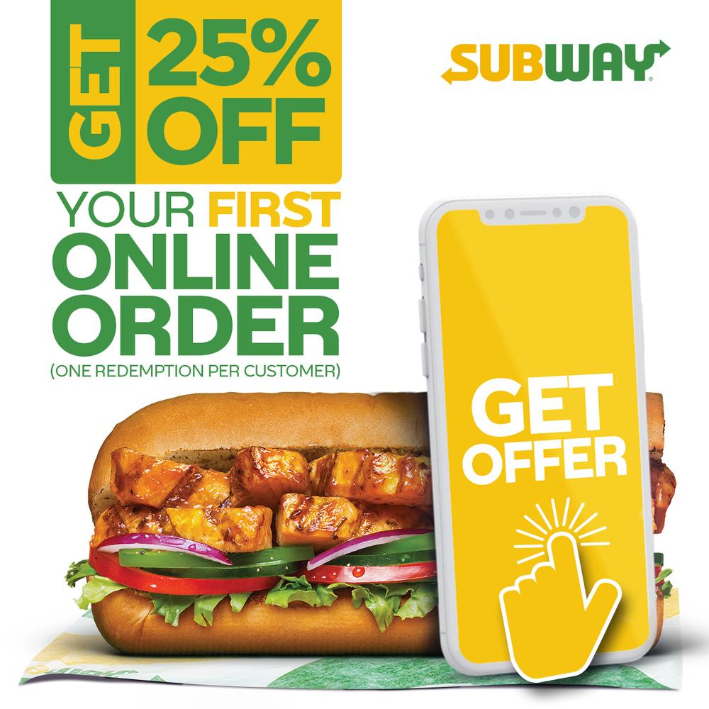 25% Off Online Order