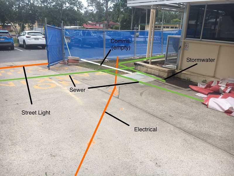 mapped underground assets