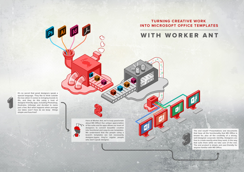 worker ant illustration