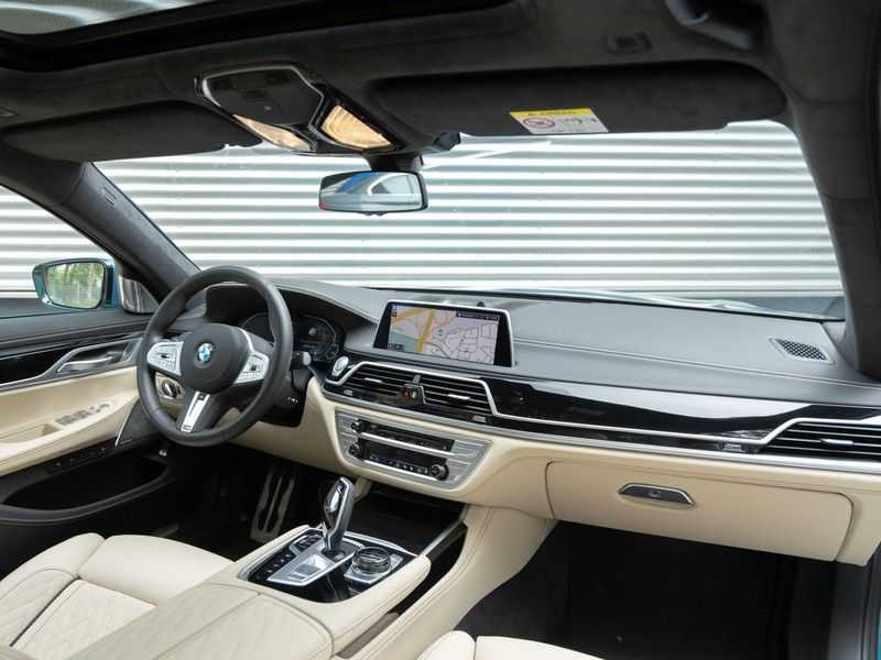 BMW 7 Serie 745Le xDrive Individual ''Maldives Blue'' - Full Option afbeelding 4