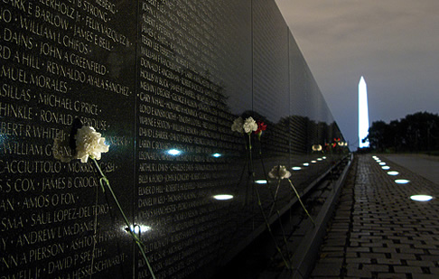 The Vietnam Veterans Memorial