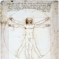image from An Early Vegetarian: Leonardo da Vinci (1452-1519)