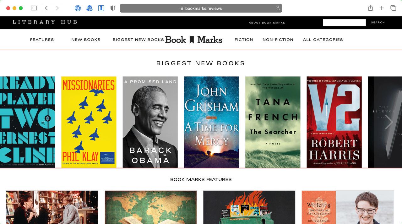 Book Marks platform