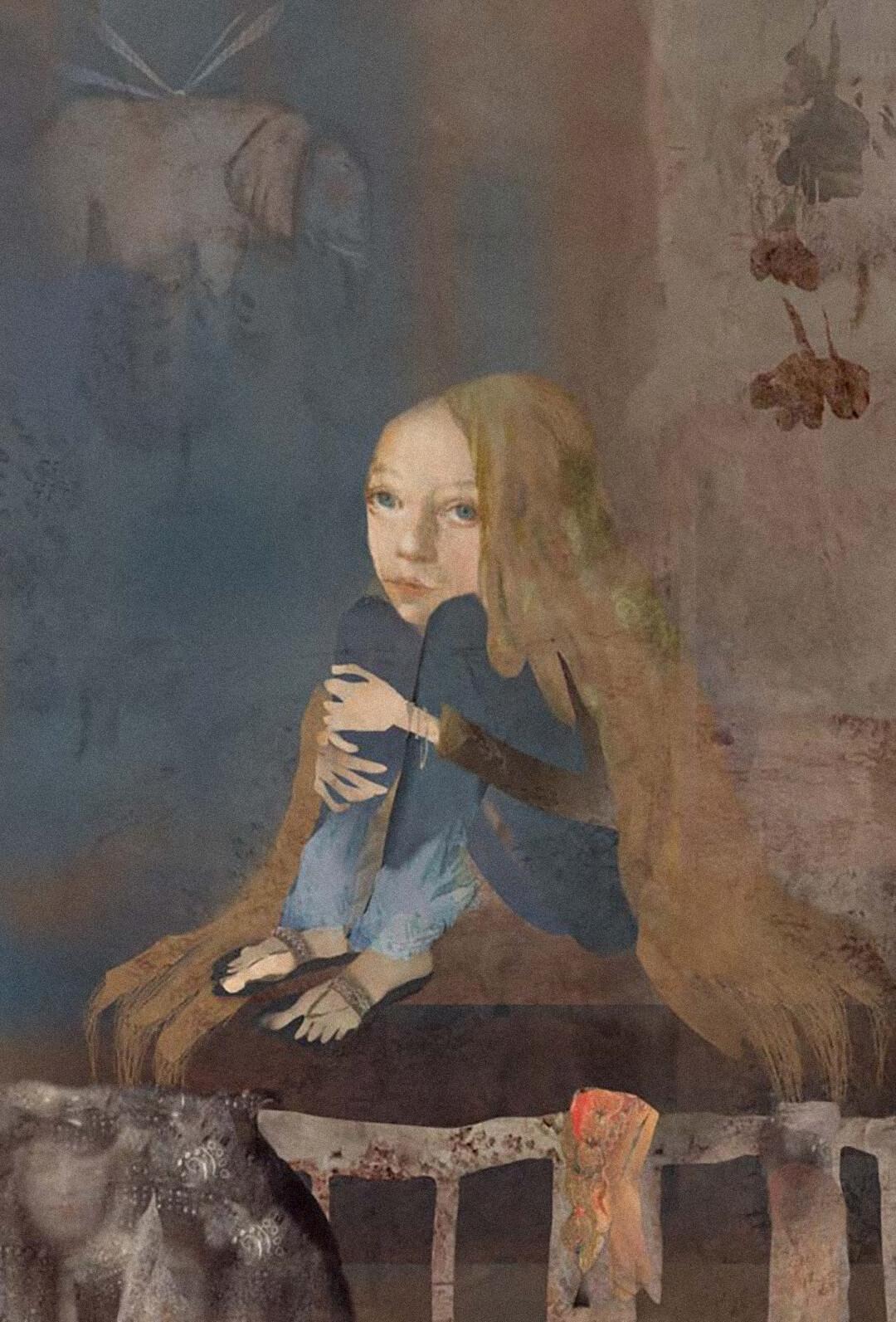 Иллюстрация Наиры Мурадян собложки книги Мариам Петросян «Дом, вкотором… Том 3. Пустые гнезда»