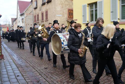 Festumzug durchs Altort in Lengfurt
