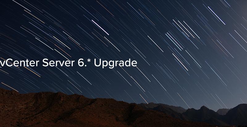 vCenter Server 6. Upgrade - logo