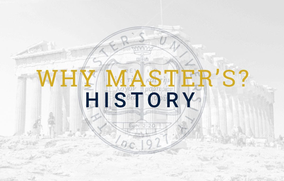 Why History at TMU?