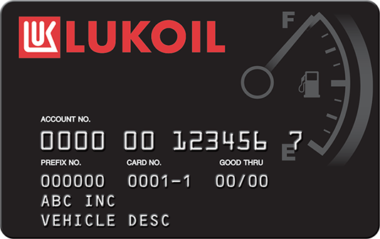 Lukoil card