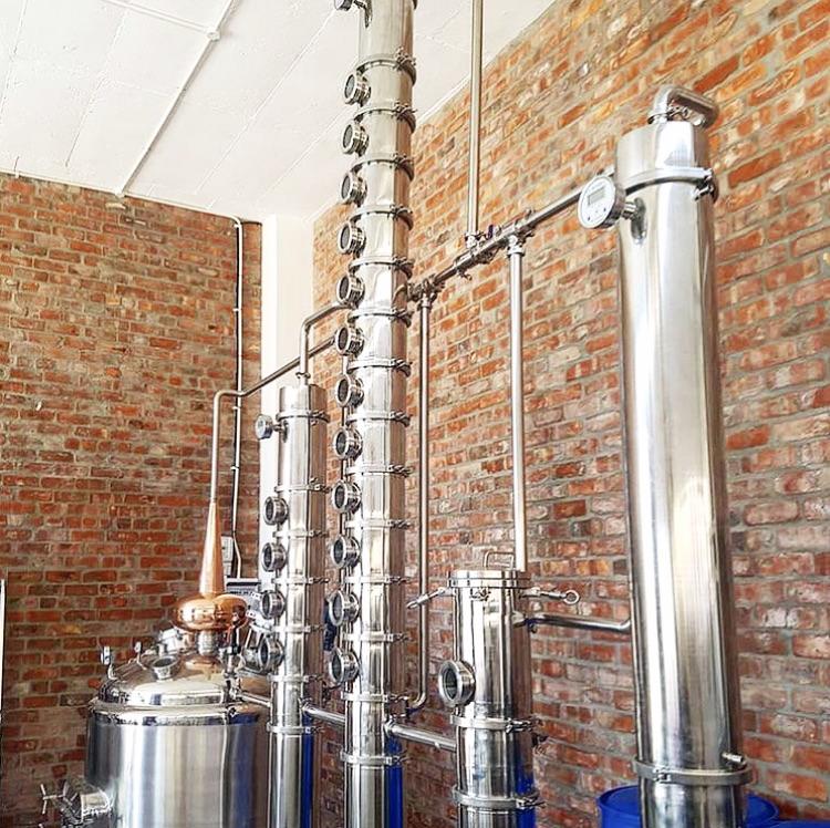 Cape Town Distillery Columns