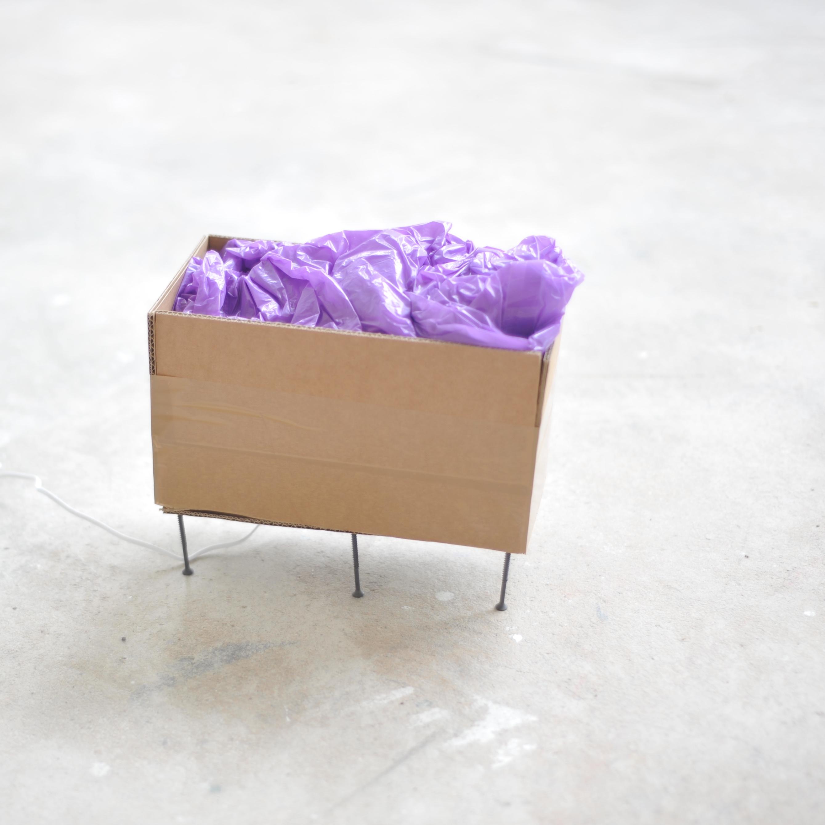 Purple; Seiten- und Innenansicht.