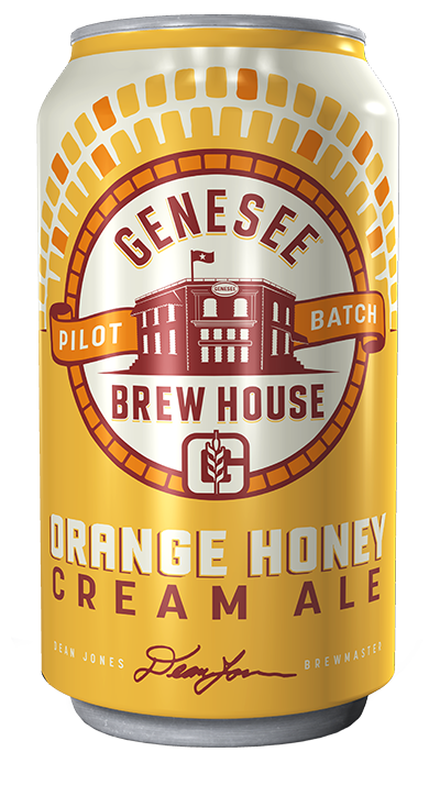 Genesee Orange Honey Cream Ale can