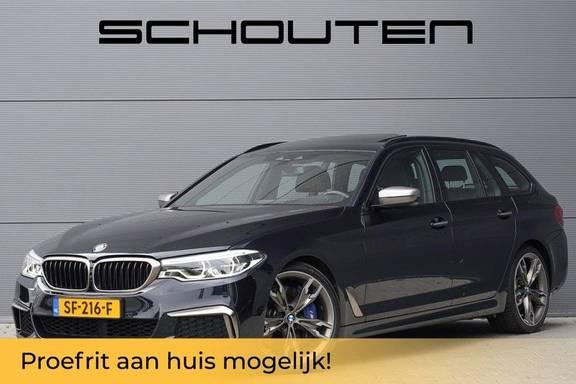 """BMW 5 Serie X-Drive M-Pakket Shadow B&W Camera 360° Massage 20"""""""