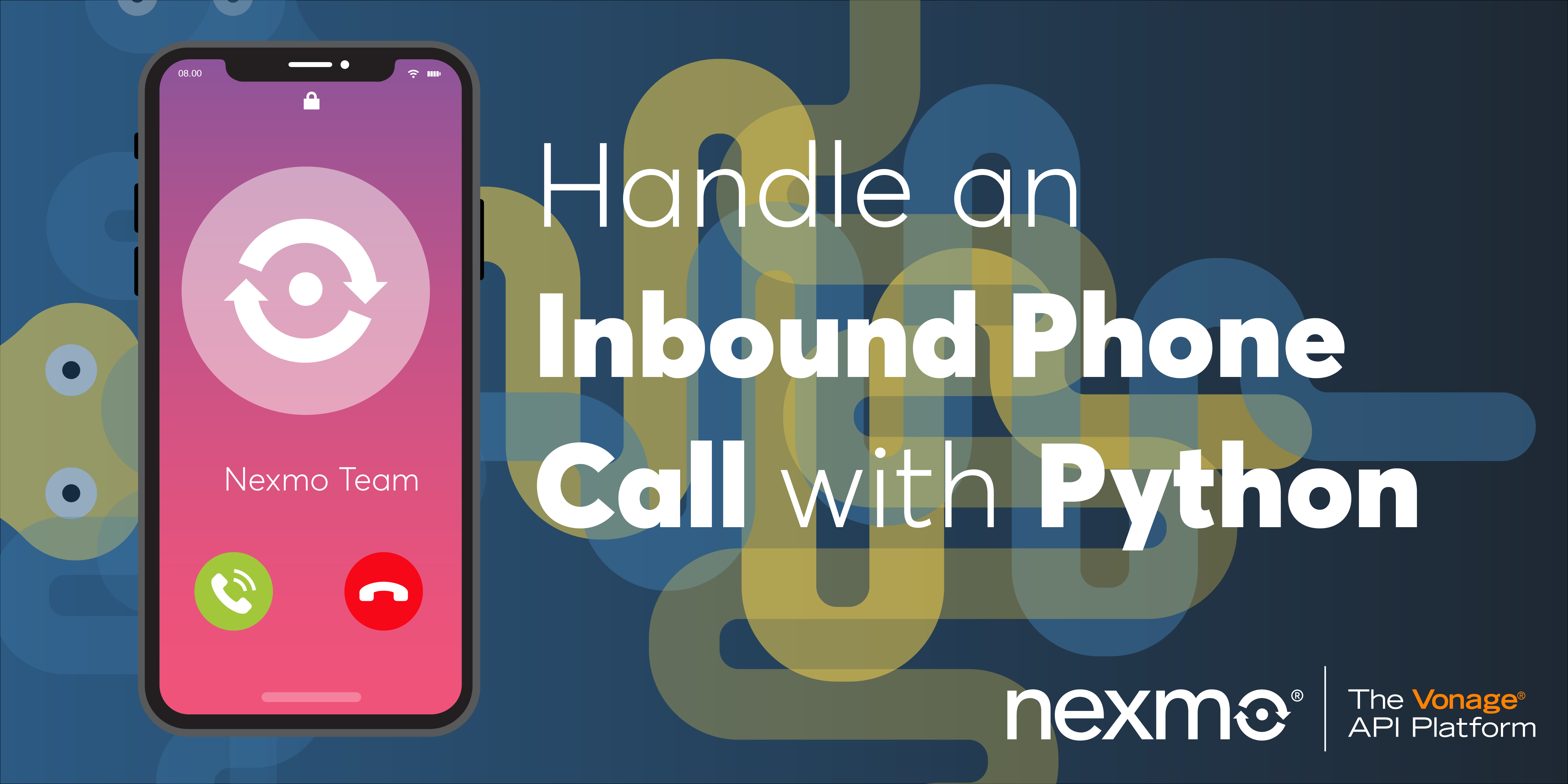 Handle an Inbound Phone Call with Python
