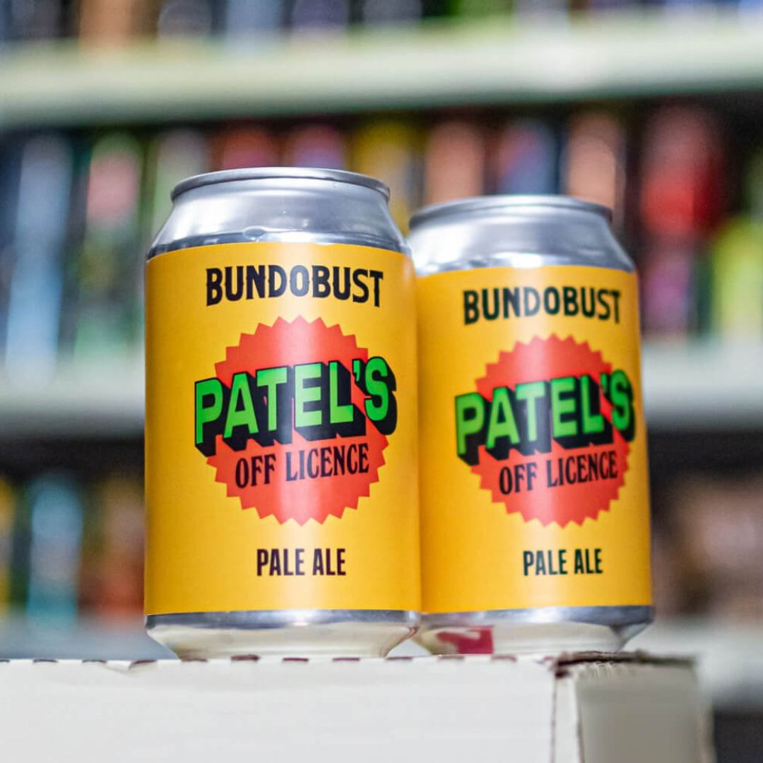 Pale ale from Patels offlicense