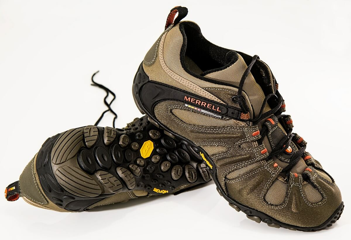 A Pair of Hiking Shoes
