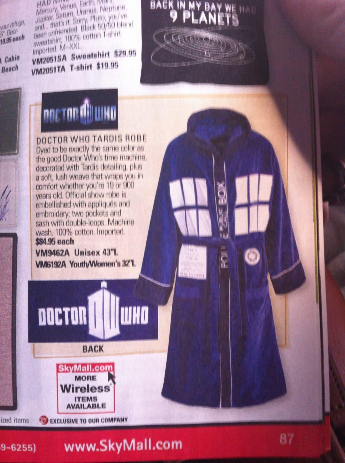 TARDIS robe