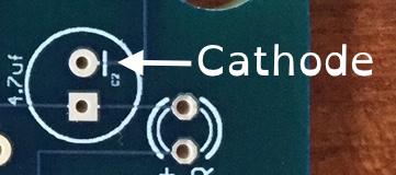Cathode orientation